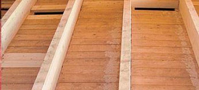 Настил пола в деревянном доме – делаем правильно
