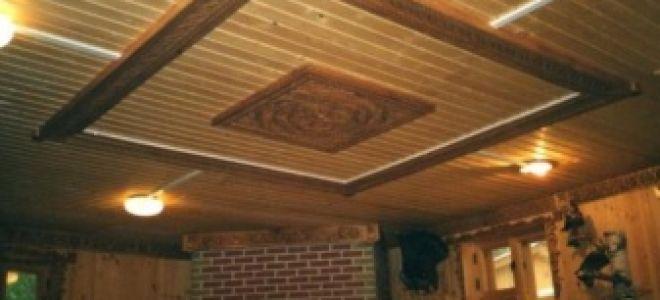Как обустроить потолок — утепляем, шумоизолируем, отделываем