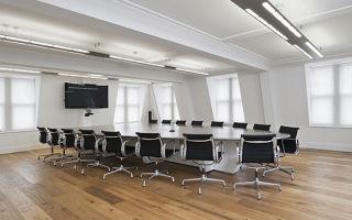 Выбор напольного покрытия для конференц-зала