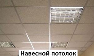 Подвесной потолок «Армстронг» — монтаж и характеристики