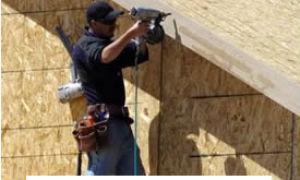 Монтаж ОСБ плит — правильная обшивка и крепление к несущим конструкциям
