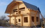 Этапы строительства и стоимость дома из оцилиндрованного бревна