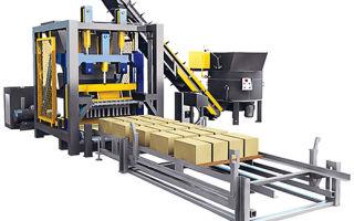 Оборудование (станки) и технология производства керамзитобетонных блоков