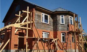Обкладка деревянного дома кирпичом — преображаем фасад до неузнаваемости