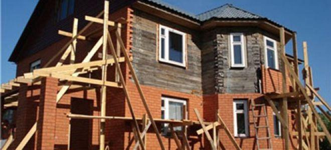 Обкладка деревянного дома кирпичом – преображаем фасад до неузнаваемости