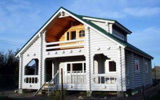 Покраска фасада деревянного дома — для чего, чем и как красить