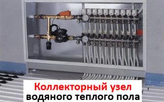 Назначение и устройство коллектора для водяного теплого пола