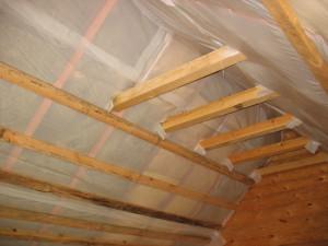 Пароизоляция при утеплении крыши изнутри