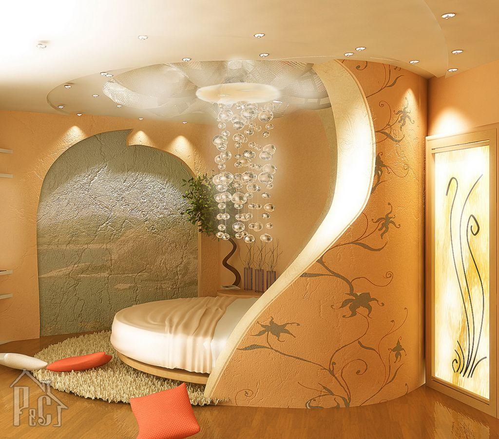 с фото потолки коридор гипсокартона