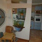 Фото гипсокартонной перегородки на кухне
