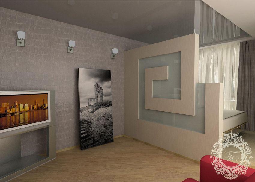 Как разделить комнату на детскую и спальню фото