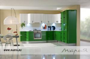 Угловая кухня Bubi