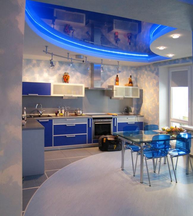 Дизайн кухни гостиной: зонирование и оформление (+ фото).