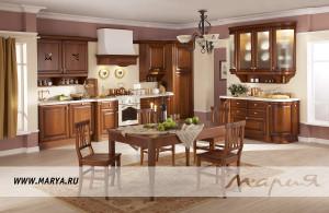 Кухня Gloria, выполненная в классическом стиле