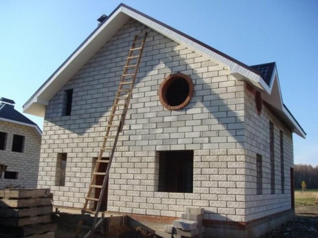 инструкция по строительству дома из газоблоков