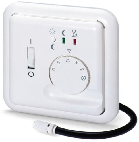 Комплект из термодатчика и терморегулятора для теплого пола