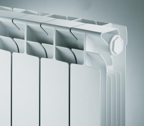 Ребра радиатора специальной конфигурации лучше отдают тепло