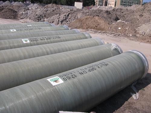 Трубы из полипропилена большого диаметра для прокладки канализации