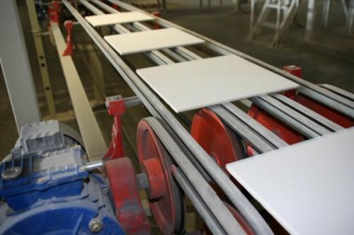 Процесс производства керамогранитной плитки