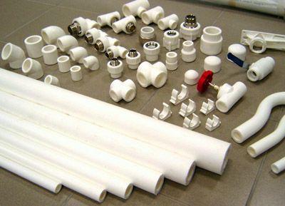 Полипропиленовыые трубы различных диаметров