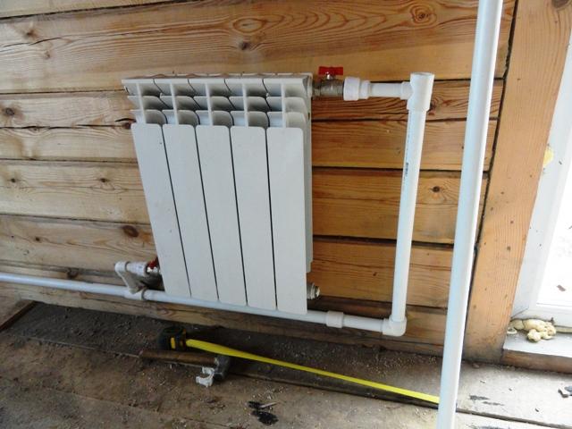 Монтаж радиаторов отопления своими руками в частном