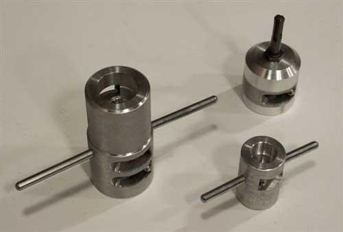 Шейверы длятруб различного диаметра