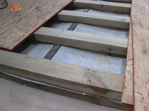 Укладка ОСБ на бетонный пол