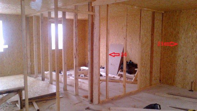 Внутренняя отделка стен из ОСБ: чем отделать дом