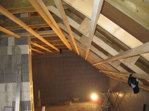 Горизонтальные планки для крепления OSB плит