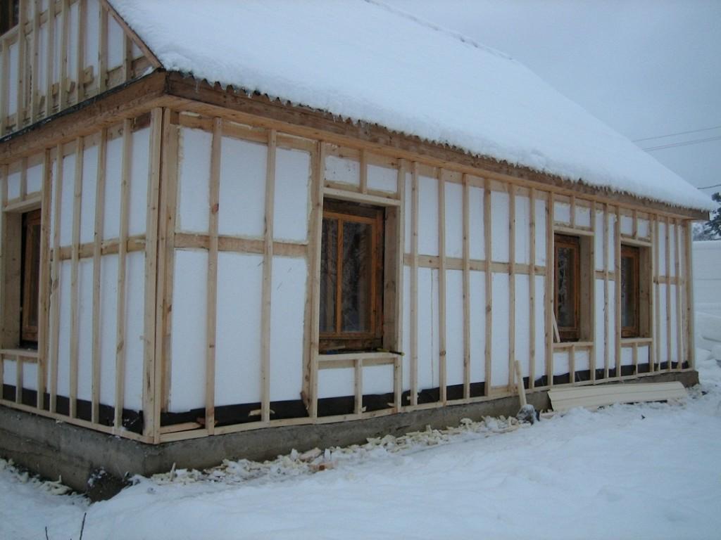 Каркасный дом утепление дома