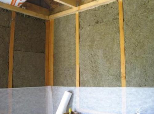 Пароизоляция крайне важна для эффективного утепления с помощью базальтовой ваты