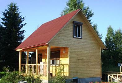 Типичное решение - каркасный дом 6х6