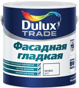 Краска Dulux подходит для окрашивания фасада по всем характеристикам