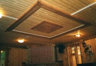 Рельефный вариант исполнения потолка