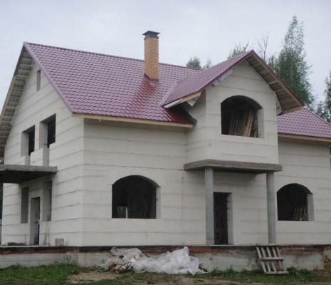 Вот такой прекрасный дом можно построить из газосиликатных блоков