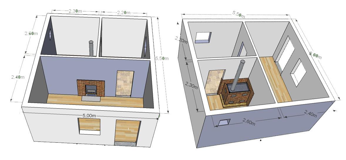 Как построить баню из блоков своими руками проекты