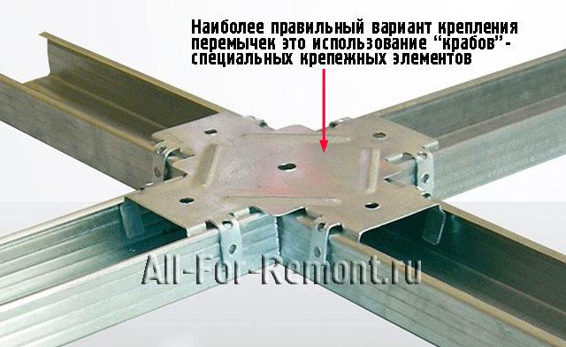 Соединение с помощью краба