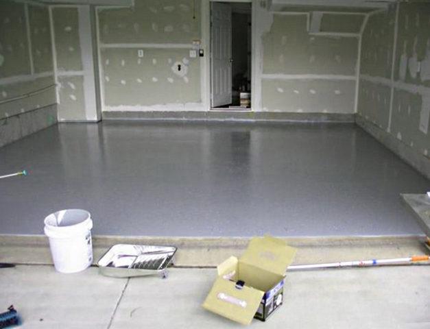 Залитая стяжка с применением силиката натрия